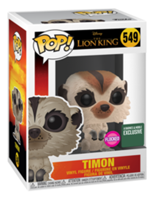 Funko Pop! Disney Timon (Flocked) Stock