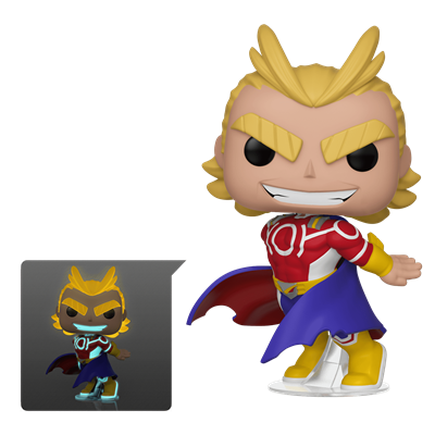 Funko Pop! Animation Silver Age All Might (Glows in the Dark)