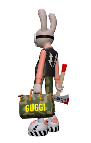 "Superplastic Vinyl Toys Guggimon ""Work & Play"" Stock"