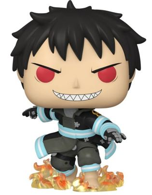 Funko Pop! Animation Shinra with Fire (Glows in the Dark)
