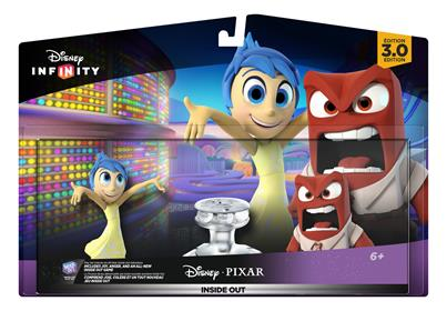 Disney Infinity Figures Inside Out Anger Stock