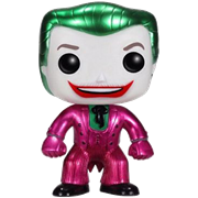 Funko Pop! Heroes The Joker (Classic 1966 TV) (Metallic)