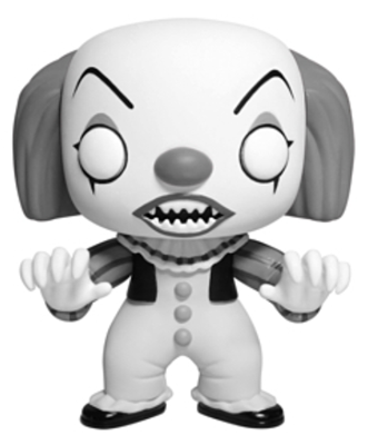 Funko Pop! Movies Pennywise (B&W) Icon