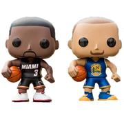 Funko Pop! Sports Dwyane Wade vs Stephen Curry