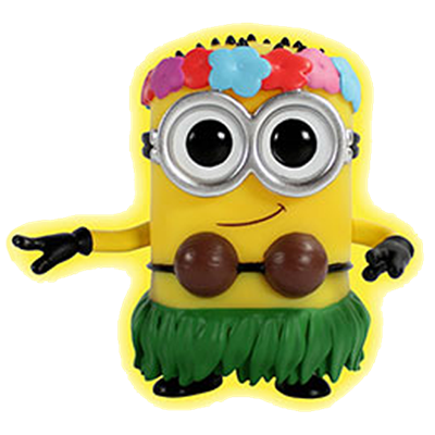 Funko Pop! Movies Minion (Hula) - Glow Icon
