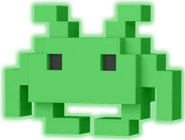 Funko Pop! 8-Bit Medium Invader (Glow)