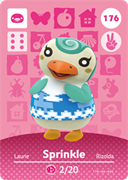 Amiibo Cards Animal Crossing Series 2 Sprinkle