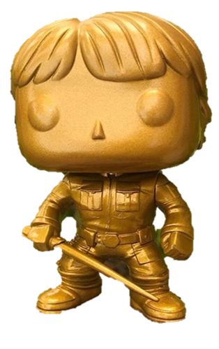 Funko Pop! Star Wars Luke Skywalker (Bespin) (Gold)