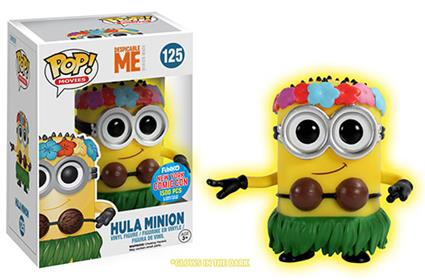 Funko Pop! Movies Minion (Hula) - Glow Stock Thumb