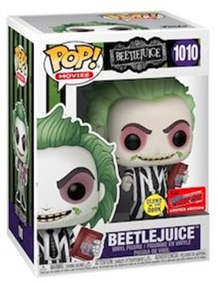 Funko Pop! Movies Beetlejuice (Glow in the Dark) Stock