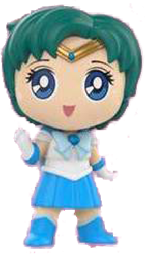 Mystery Minis Sailor Moon Sailor Mercury (Posed)