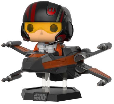 Funko Pop! Star Wars Poe Dameron w/ X-Wing