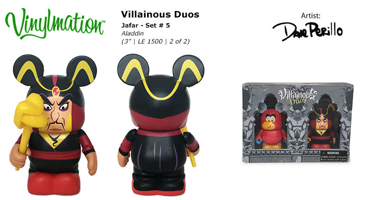 Vinylmation Open And Misc Villainous Duos 5 Jafar