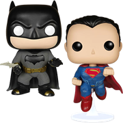 Funko Pop! Heroes Batman Vs Superman (Dawn of Justice) (First to Market) (2-Pack)
