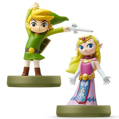 Amiibo The Legend of Zelda Toon Link /Zelda Windwaker (2-Pack)