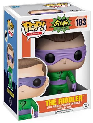 Funko Pop! Heroes The Riddler (Classic TV) Stock