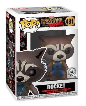 Funko Pop! Marvel Rocket Stock