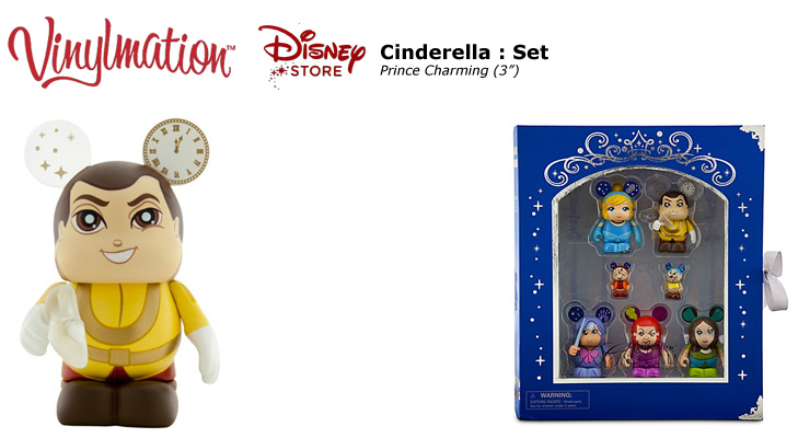 Vinylmation Open And Misc Disney Store Cinderella Prince Charming