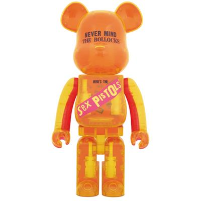 Be@rbrick Sex Pistols Never mind the Bollocks (Clear) 1000%
