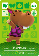 Amiibo Cards Animal Crossing Series 3 Bubbles