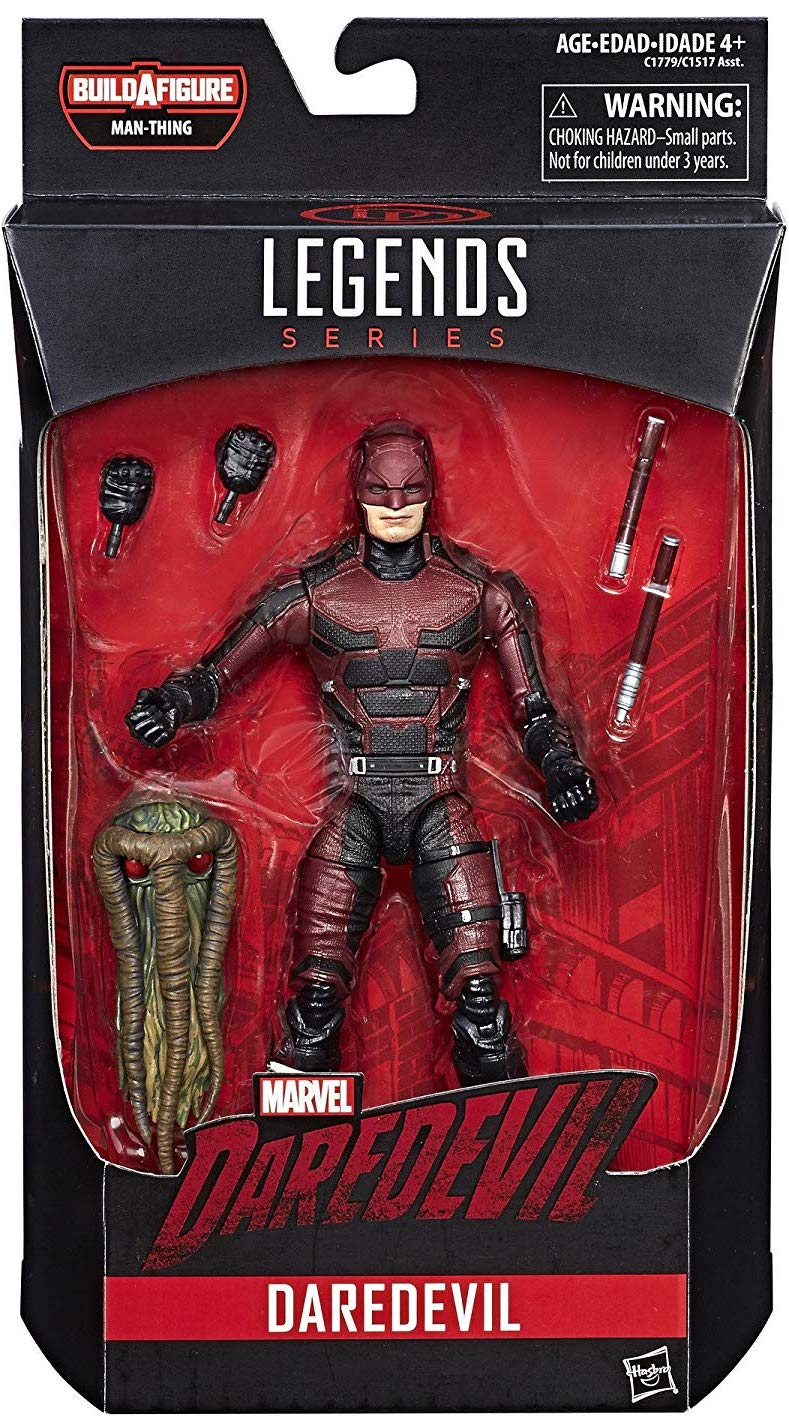 Marvel Legends Man-Thing Series Daredevil Icon