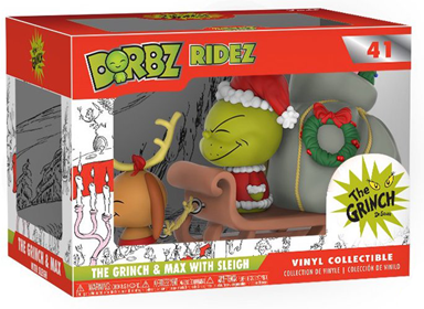 Dorbz Dorbz Ridez The Grinch & Max (w/ Sleigh) Stock