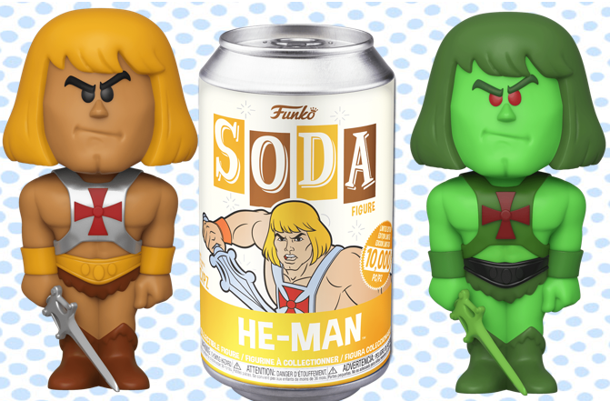 Vinyl Soda Masters of the Universe