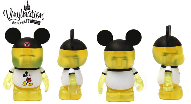 Vinylmation Open And Misc Theme Park Favorites Yellow Shirt