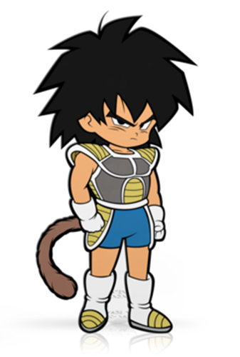 FiGPin Dragon Ball Super Kid Broly Icon