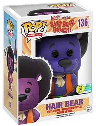 Funko Pop! Animation Hair Bear (Purple) Stock