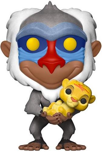 Funko Pop! Disney Rafiki (w/ Simba) - Flocked