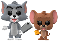 Funko Pop! Animation Tom and Jerry (Flocked)