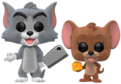 Funko Pop! Animation Tom and Jerry (Flocked) Icon