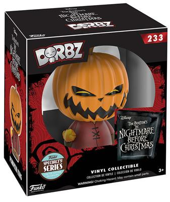 Dorbz Nightmare Before Christmas Pumpkin King Stock Thumb