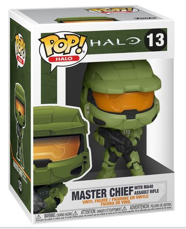 Funko Pop! Halo Master Chief with MA40 Assault Rifle Stock