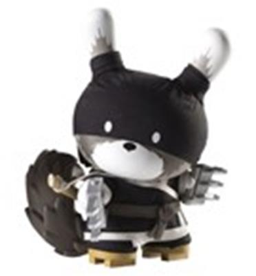 "Kid Robot 8"" Dunnys Raku (Black/Night)"