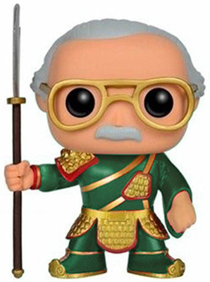 Funko Pop! Asia Stan Lee (Guan Yu) - Green Icon
