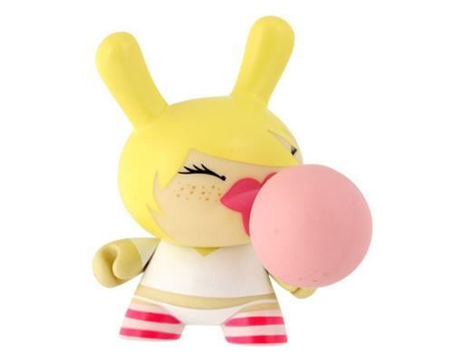 Kid Robot Special Edition Dunny Bubblelove Blonde Stock