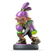 Amiibo Splatoon Inkling Boy (Purple)