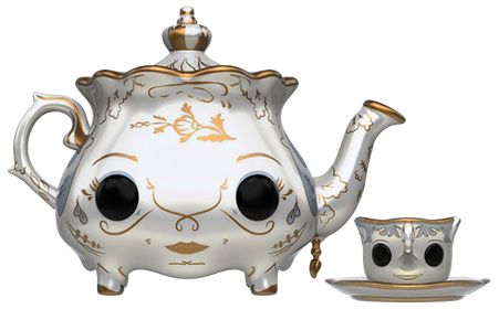 Funko Pop! Disney Mrs. Potts & Chip (Live Action) Icon