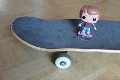 Funko Pop! Movies Marty McFly (Hoverboard) (funkophotos on tumblr.com