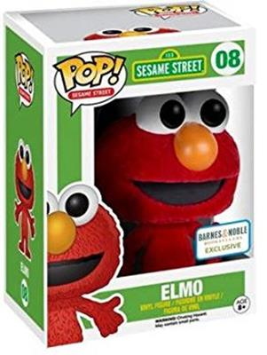 Funko Pop! Sesame Street Elmo (Flocked) Stock