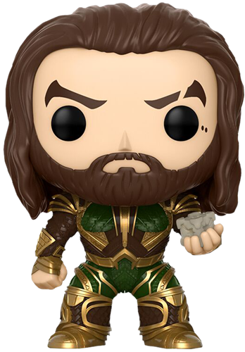 Funko Pop! Heroes Aquaman (Justice League) - w/ Motherbox Icon