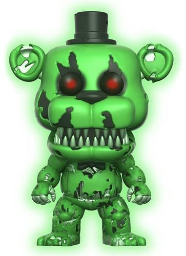 Funko Pop! Games Freddy (Nightmare) - Glow