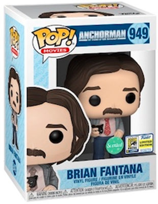 Funko Pop! Movies Brian Fantana (Scented) Stock