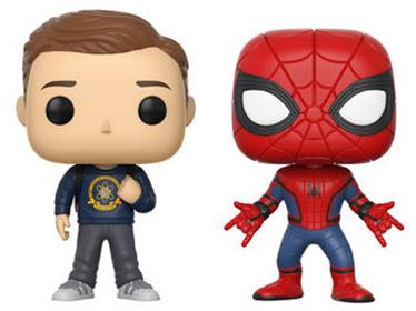 Funko Pop! Marvel Peter Parker / Spider-Man (2 Pack)