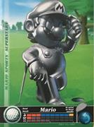 Amiibo Cards Mario Sports Superstars Metal Mario - Golf