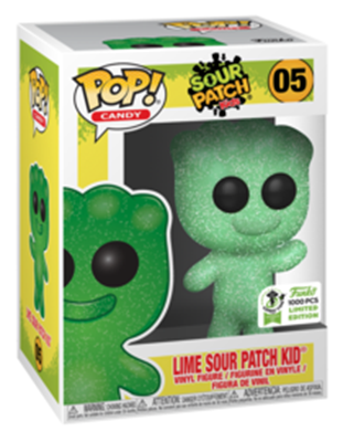 Funko Pop! Candy Lime Sour Patch Kid  Stock