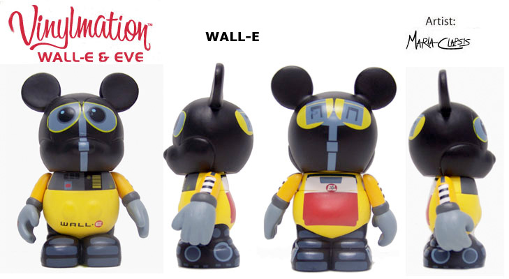 Vinylmation Open And Misc Wall-E Set Wall-E