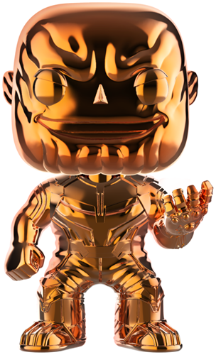 Funko Pop! Marvel Thanos (Chrome Orange)